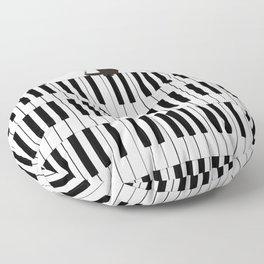 Piano Cat Floor Pillow