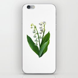 Lily of the Valley Floweret iPhone Skin