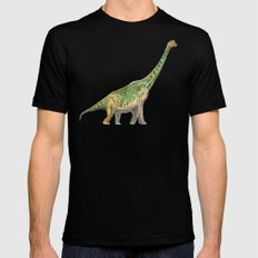 Brachiosaurus Mens Fitted Tee Black MEDIUM