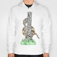 wild things Hoodies featuring The Wild Things by Cherry Virginia