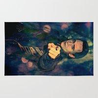 loki Area & Throw Rugs featuring Loki by Sirenphotos