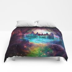 Magical castle Comforters
