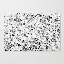 Marbled Sprinkle Canvas Print