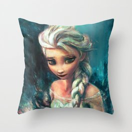 The Storm Inside Throw Pillow