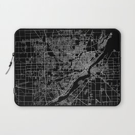Toledo map ohio Laptop Sleeve