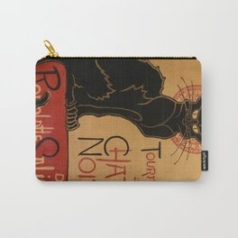 Le Chat Noir - Théophile Steinlen Carry-All Pouch