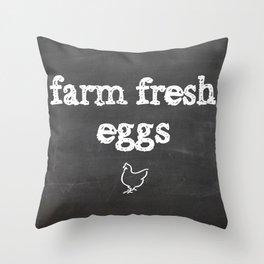 Farm Fresh Throw Pillow