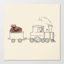 Nestle - Train Canvas Print