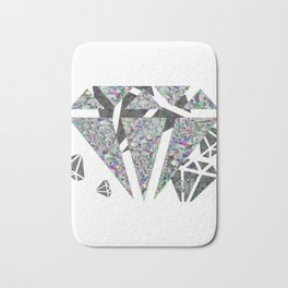 Dead diamonds Bath Mat