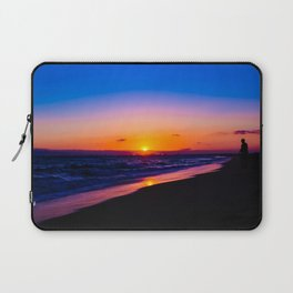 outstanding sunset Laptop Sleeve