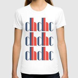 Bauhaus Joschmi Xants Repetition Font Art T-shirt