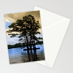 Cypress Trees Stationery Cards
