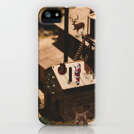 Christmas in Mayberry iPhone Case
