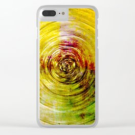 We Are Falling into the Heart of the Sun Clear iPhone Case