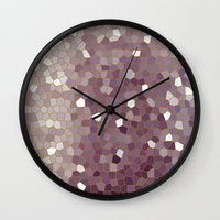 plain Wall Clocks featuring Plain Jane by Bruce Stanfield