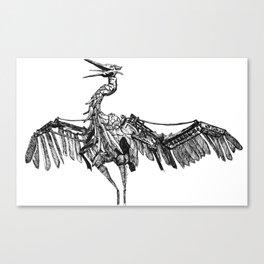 a marvelous creature Canvas Print