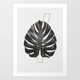 ABC Plants – Y Art Print