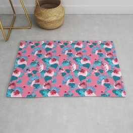 Pink Cats Rug