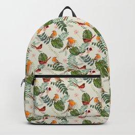 Nature Bird Pattern - Ornithology birding Gift Backpack