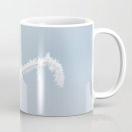 Stonechat in Winter Coffee Mug