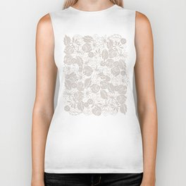 buttons and blooms Biker Tank