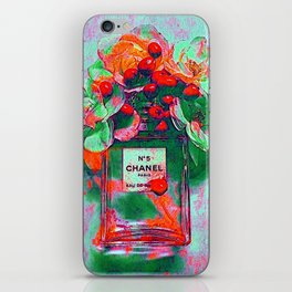 Fragrance 5 Flowers iPhone Skin