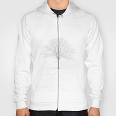 Tree in the Snow Hoody
