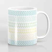 knit Mugs featuring Knit 2 by K&C Design