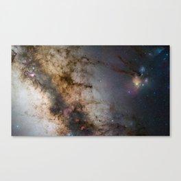 """Sagittarius Constellation """"340-million pixel starscape"""" Canvas Print"""