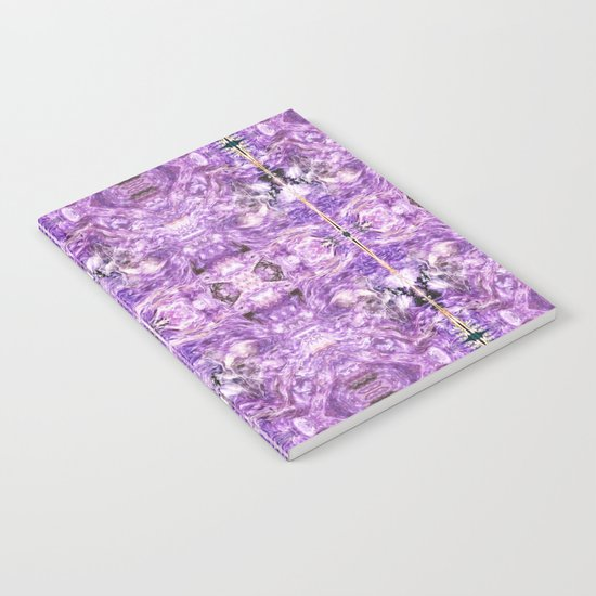 lilac stone flower Notebook