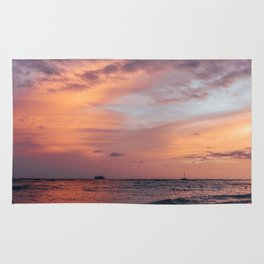Cotten Candy Sunset Rug
