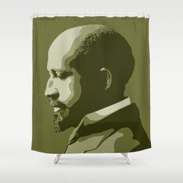 W.E.B. DuBois Shower Curtain