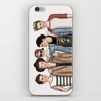 one direction iPhone & iPod Skins featuring One Direction by vulcains