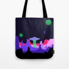 Hello ufo Tote Bag