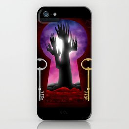 dark tower iPhone Case