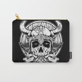 Skull Viking Carry-All Pouch