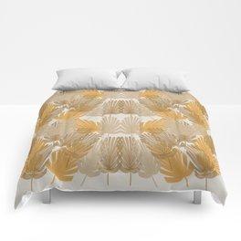 Broad Leaves 1 Comforters