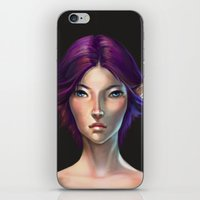 elf iPhone & iPod Skins featuring Elf by TanyaGreece