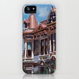 Whats Behind that Window? iPhone Case