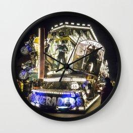 Trash City Wall Clock