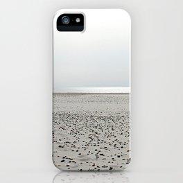 North Sea Beach, low tide iPhone Case