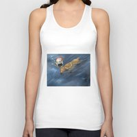 thranduil Tank Tops featuring Baby Thranduil and elk by Rshido