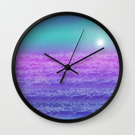 Polar Day Wall Clock