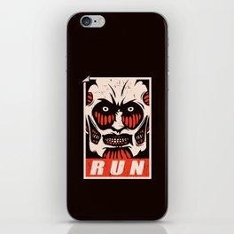 Run iPhone Skin