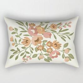 Freya Flowers Rectangular Pillow