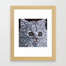 Chat (French Cat) Framed Art Print