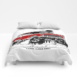 55 Gasser Series REV-2 RED Comforters