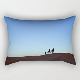 Into the desert Rectangular Pillow