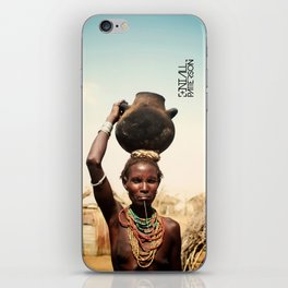 omo valley tribal woman  iPhone Skin