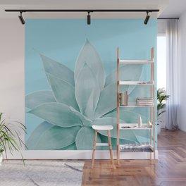 Light Blue Agave #1 #tropical #decor #art #society6 Wall Mural